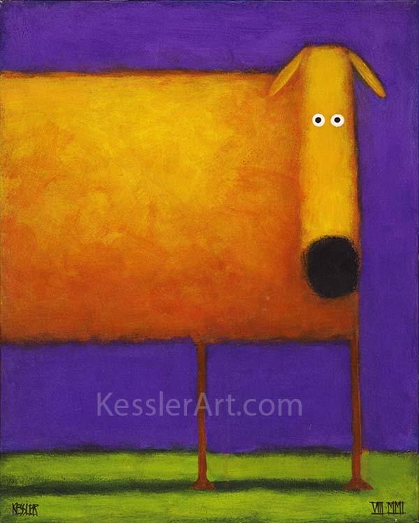 Orange Dog I
